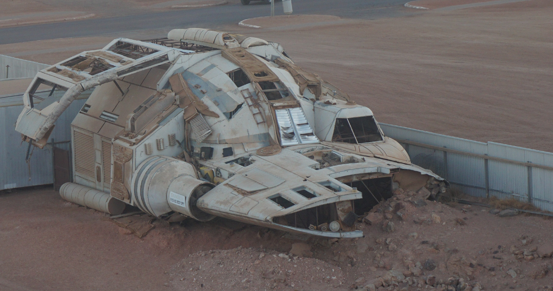 Riddick's spaceship